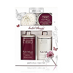 Baylis & Harding - Skin Spa Herbal Therapy Collection - Mulberry, Hollyhock & Thyme Body Radiance Set