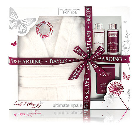 Baylis & Harding - +Skin Spa+ herbal therapy dressing gown gift set