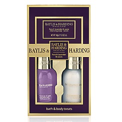 Baylis & Harding - French Lavender & Cassis Collection Trio Gift Set