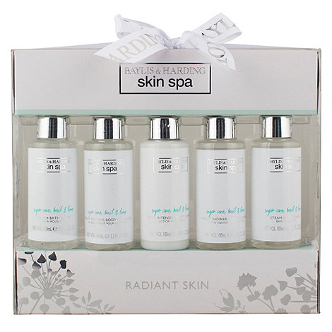 Baylis & Harding - Skin Spa Collection - Sugar Cane, Basil & Lime Radiant Skin Set