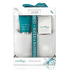 Baylis & Harding - Skin Spa Aromatherapy Collection - Eucalyptus & Garden Mint Slipper Set
