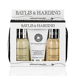 Baylis & Harding - Signature Collection - Sweet Mandarin & Grapefruit travel set