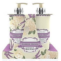Baylis & Harding - Garden House Collection Û Lavender & Rose Petal Hand Wash & Lotion Set