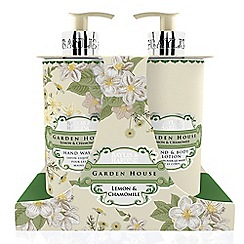Baylis & Harding - Garden House Collection Û Lemon & Chamomile Hand Wash & Lotion Set