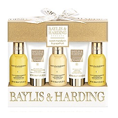 Baylis & Harding - Sweet Mandarin & Grapefruit 5 Piece Christmas Gift Set