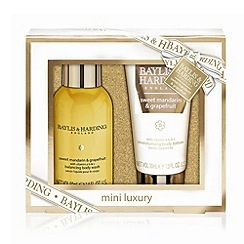 Baylis & Harding - Sweet Mandarin & Grapefruit Small 2 Piece Christmas Gift Set