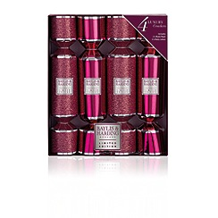 Baylis & Harding - Midnight Fig & Pomegranate 4 Christmas Cracker Set