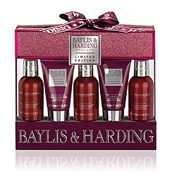 Baylis & Harding - Midnight Fig & Pomegranate 5 Piece Christmas Gift Set