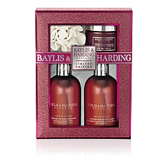 Baylis & Harding - Midnight Fig & Pomegranate Benefit gift set
