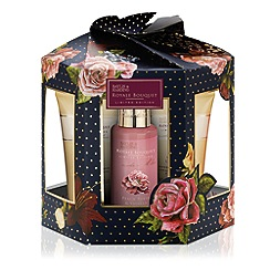 Baylis & Harding - Royal Bouquet Blue Hexagon Christmas Gift Set