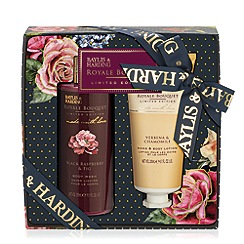 Baylis & Harding - Royal Bouquet Blue 2 Piece Christmas Gift Set