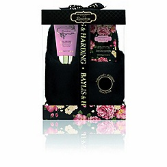 Baylis & Harding - Boudoire Black Slipper gift set