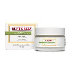 Burt's bees - Sensitive Night Cream, 50g