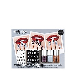 Nails Inc. - Monogram Manicure collection