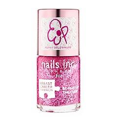 Nails Inc. - Pinkie Pink with Poppy Delevingne polish 10ml