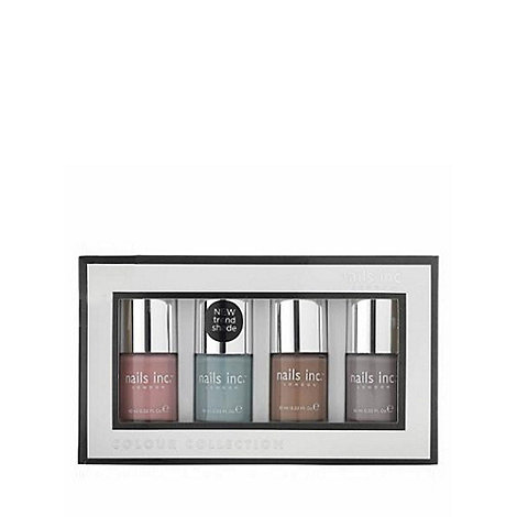 Nails Inc. - +Nude Collection+ nail polish gift set