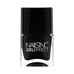Nails Inc. - Black Taxi gel effect 14ml