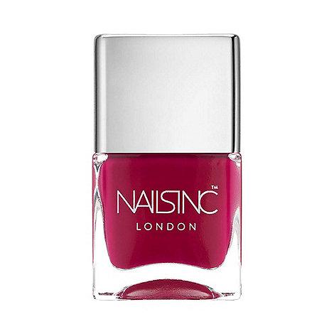 Nails Inc. - Piccadilly glossy cerise nail polish 14ml
