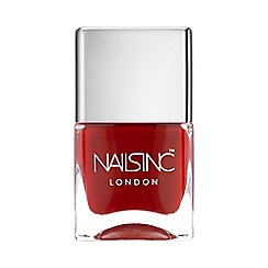 Nails Inc. - Tate classic deep red nail polish