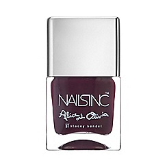 Nails Inc. - Midnight Merlot nail polish 10ml