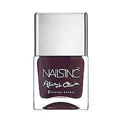 Nails Inc. - Midnight Merlot nail polish 10ml