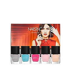 Nails Inc. - Coconut brights gel effect collection - Spring Summer