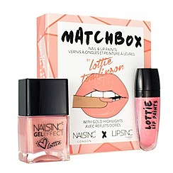 Nails Inc. - 'Matchbox Sick & Salt' nail and lip paint