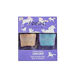 Nails Inc. - 'Sparkle Like A Unicorn' nail polish duo set