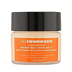Ole Henriksen - Herbal SPF 15 day cream 50ml