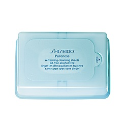 Shiseido - Pureness Refreshing Cleansing Sheets