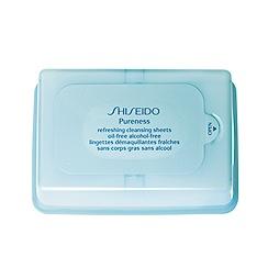 Shiseido - Pureness Refreshing Cleansing Sheets