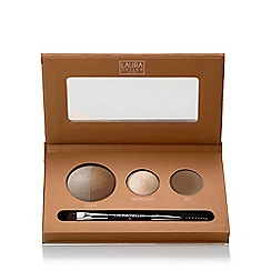 Laura Geller - 'Brow Sculpting' taupe palette 0.8g