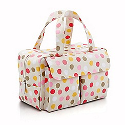 Victoria Green - Debenhams Exclusive: Spot Print Carry All