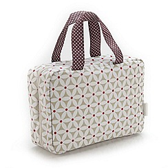 Victoria Green - Debenhams Exclusive: Starflower Print Traveller Bag