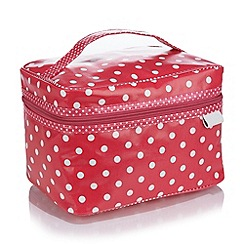 Victoria Green - Debenhams Exclusive: Spot Vanity Case