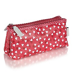 Victoria Green - Debenhams Exclusive: Love Hearts fold over case