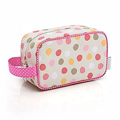 Victoria Green - Debenhams Exclusive: Spot Print Cosmetics Pouch