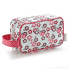 Victoria Green - Debenhams Exclusive: Blossom Print Cosmetics Pouch
