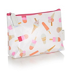 Victoria Green - Debenhams Exclusive: Brighton Print Every day Make Up Bag