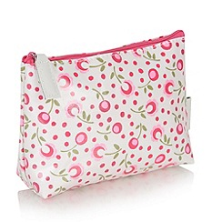 Victoria Green - Debenhams Exclusive: Padstow floral Every day Make Up Bag
