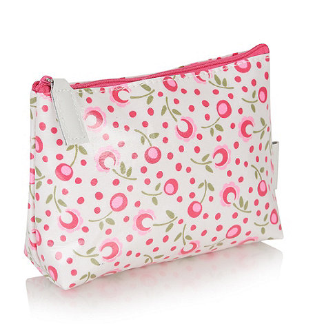 Victoria Green - Padstow floral everyday cosmetics bag