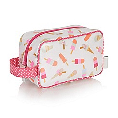 Victoria Green - Debenhams Exclusive: Brighton Print Cosmetics Pouch