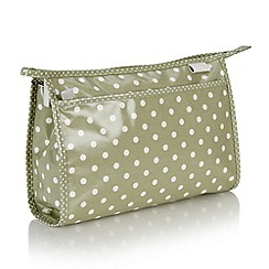 Victoria Green - Debenhams Exclusive: Southwold Spot Wash Bag