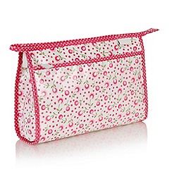 Victoria Green - Debenhams Exclusive: Padstow floral Wash Bag