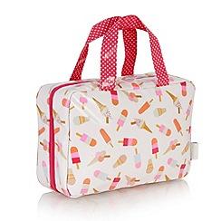 Victoria Green - Debenhams Exclusive: Brighton Print Traveller Bag