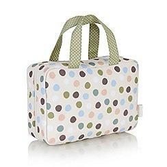 Victoria Green - Debenhams Exclusive: Penryn Spot Traveller Bag