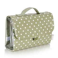 Victoria Green - Debenhams Exclusive: Southwold spot Threefold Hanging Bag