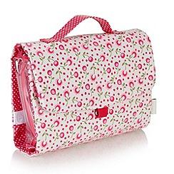 Victoria Green - Debenhams Exclusive: Padstow floral Threefold Hanging Bag