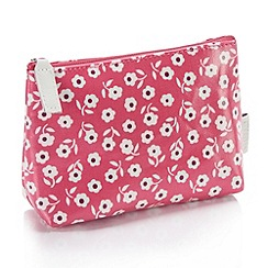 Victoria Green - Debenhams Exclusive: Daisy Print Every Day Makeup Bag