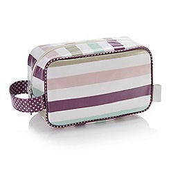 Victoria Green - Debenhams Exclusive: Langdale Stripe Cosmetics Pouch